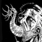Inktober/Drawlloween #4 'Parasite Head'