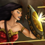 Diana in Battle - Wonder Woman