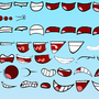 Object City Assets: Mouths (Part 1) by Rosie1991