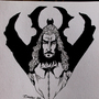 Inktober 12 - Draculloyd by Skaalk