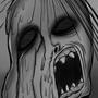 Inktober sketch #7: Melting woman by RayLeeWorld