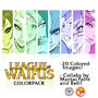 League of Waifus ColorPack