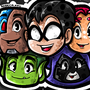 Teen Titans by BeKoe