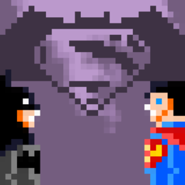 Batman V Superman Dawn Of Pixels By 002usuario On Newgrounds