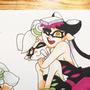 Inktober day 16 - Squid Sisters