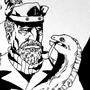 Inktober 19 - Lord Sea Captain by Skaalk