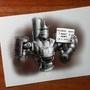 Tin man Bastion skin design! by HienKBull