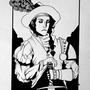 Inktober 27 - Kiederan Pilgrim by Skaalk