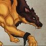 wolf of somekind by gaurav-salunkhe