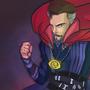 Doctor Strange Fan Art by gaurav-salunkhe