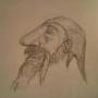 Happy Dwarf wearing a hat by wavertron