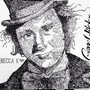 Gene Wilder Word Portrait by BeKoe