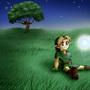 Link in peace by Dark-ChiCKeN