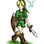 Link Drawing by GiyganMage