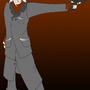 Shimonu with Gun by Shimonu