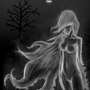 A Ghostly Figure