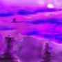 Purple Hills by Fdamours