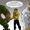 Kirk , Gorn and a Mugato