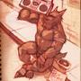 Werewolf with a Boom Box