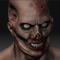 Zombie head Bust