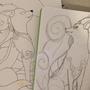 Sketch and Inked piece (PokeMashupChallenge)