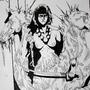 Inktober 31 - The Blood Woman by Skaalk