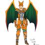 Pokemon design - Charizard by GunRaider