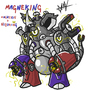 Magneton+Nidoking #PokeMashupChallenge by natanmvieira