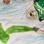 Terra spin green lantern by Surviverart