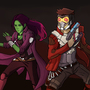 Guardians of the Galaxy by gaurav-salunkhe