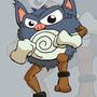 Pokemon Mashup: Primiwhirl (Primeape + Poliwhirl) by JokerInc77