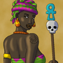 Priestess of Tanit by BrandonP