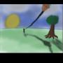 Lightning Kite by jaricreations