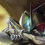 Warframe: Volt Rider by BazookaBonsai
