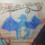 Charizard+Squrtle by LjubicaNovakov