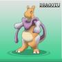 Mewtwo Dragonite fusion into Dragotu by ZflxDVerdammt