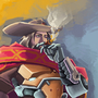 McCree Speedpaint