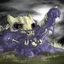 CotM pokemon mashup Muk & Maworak by Heether