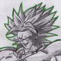 Legendary Super Saiyan Broly by JackJohns