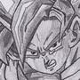 Super Saiyan Goku by JackJohns