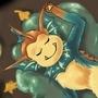 snorlax and Vaporeon = Snoreon by Felinaara