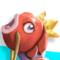 Mewtwokarp (Mewtwo + Magikarp)