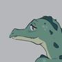 Gator Girl Sketch by Soapmonster