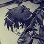 Kirito Sword Art Online by JackJohns