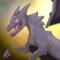 Chaunter --- Charizard/Haunter pokemon mashup