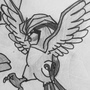 #16 Pidgey #17 Pidgeotto #18 Pidgeot by JackJohns