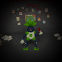 Mr. Mime + Oddish = Mr. Odd by Gigant0304
