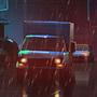 Neon Rain by YakovlevArt