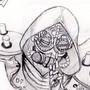 Steampunk Genji Sketch