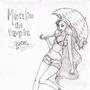 Marceline the vampire queen by Taitanator